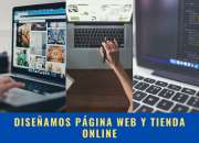 Diseño de páginas web;  tiendas online y aulas virtuales