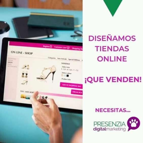 Diseño de tiendas online ¡que venden!